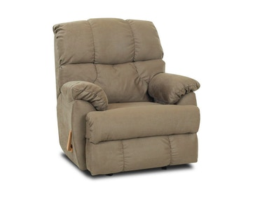Klaussner Living Room Rugby Swivel Rocker Recliner