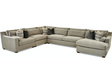 Klaussner Living Room Roan Sectional Kd37800 Sect