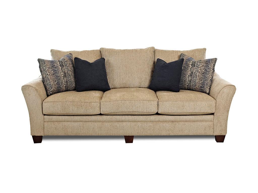 Klaussner living room posen 83844 s sofas unlimited for Klaussner sofa