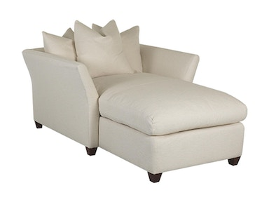Klaussner Living Room Fifi Chaise Lounge