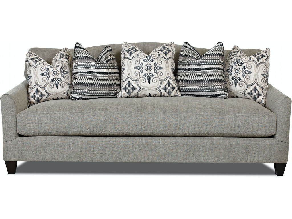 Klaussner living room leighton d31300 s hamilton sofa for D furniture galleries rockville md