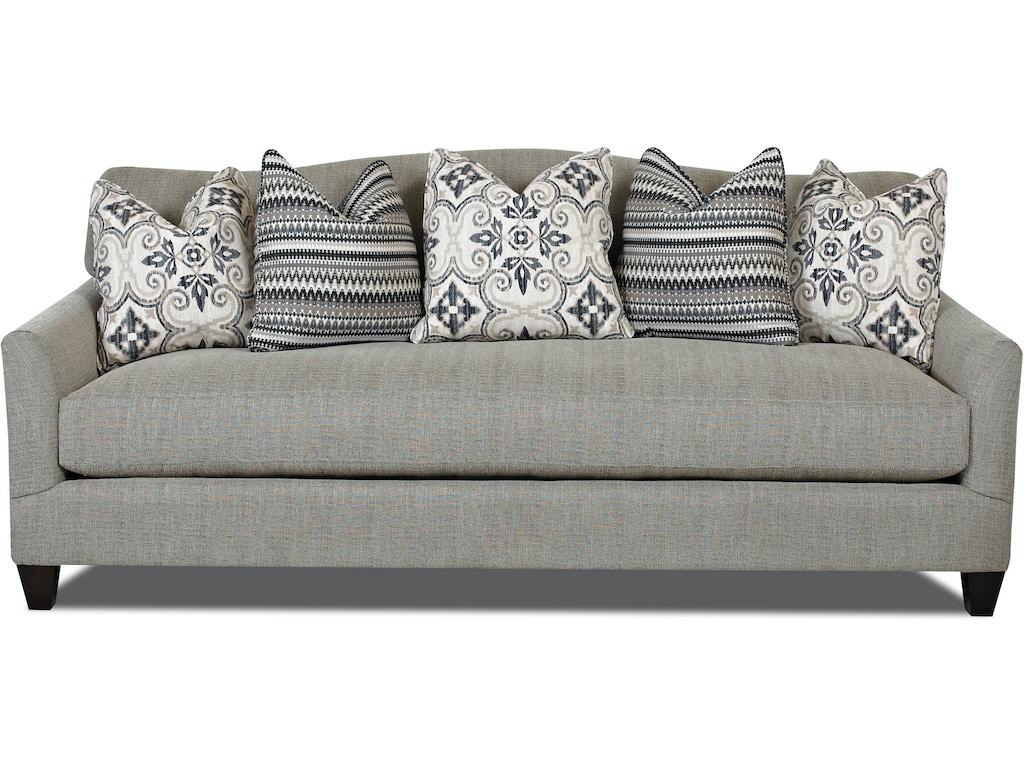 Klaussner Living Room Leighton D31300 S Hamilton Sofa Leather Gallery Chantilly Falls