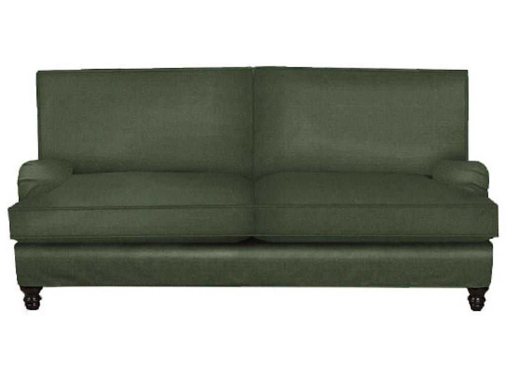 Klaussner Living Room Loewy Sofa D40100 Snp Hanks Fine Furniture Bentonville Ar Conway Ar