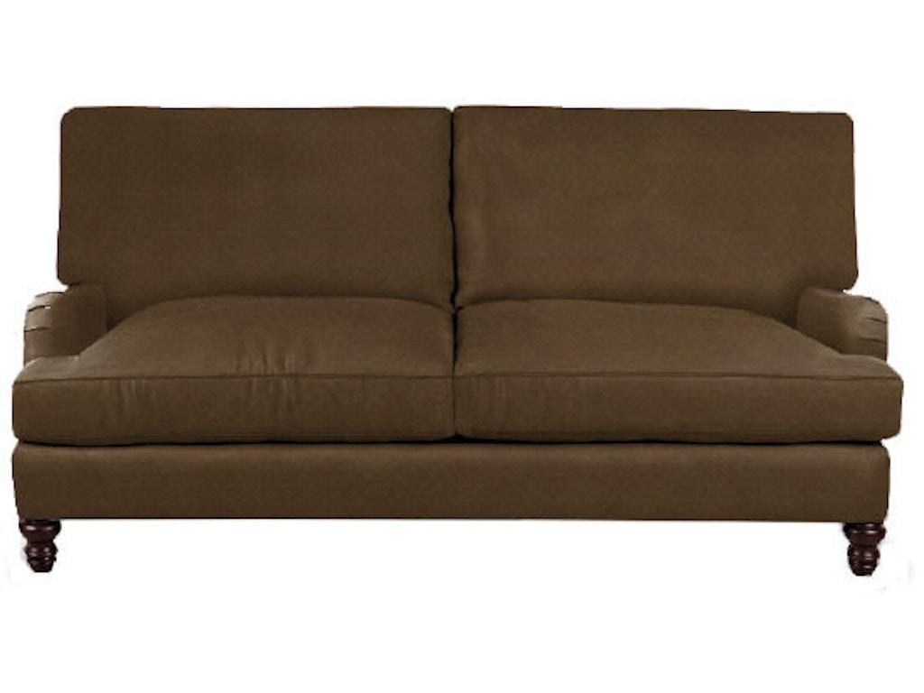 Klaussner Living Room Loewy Sofa D40900 Snp Hanks Fine