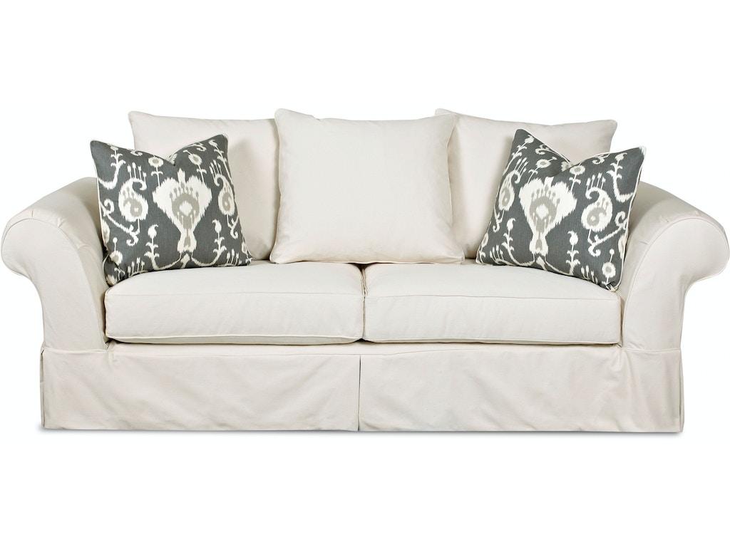 Klaussner Living Room Charleston Slipcover D80100 S