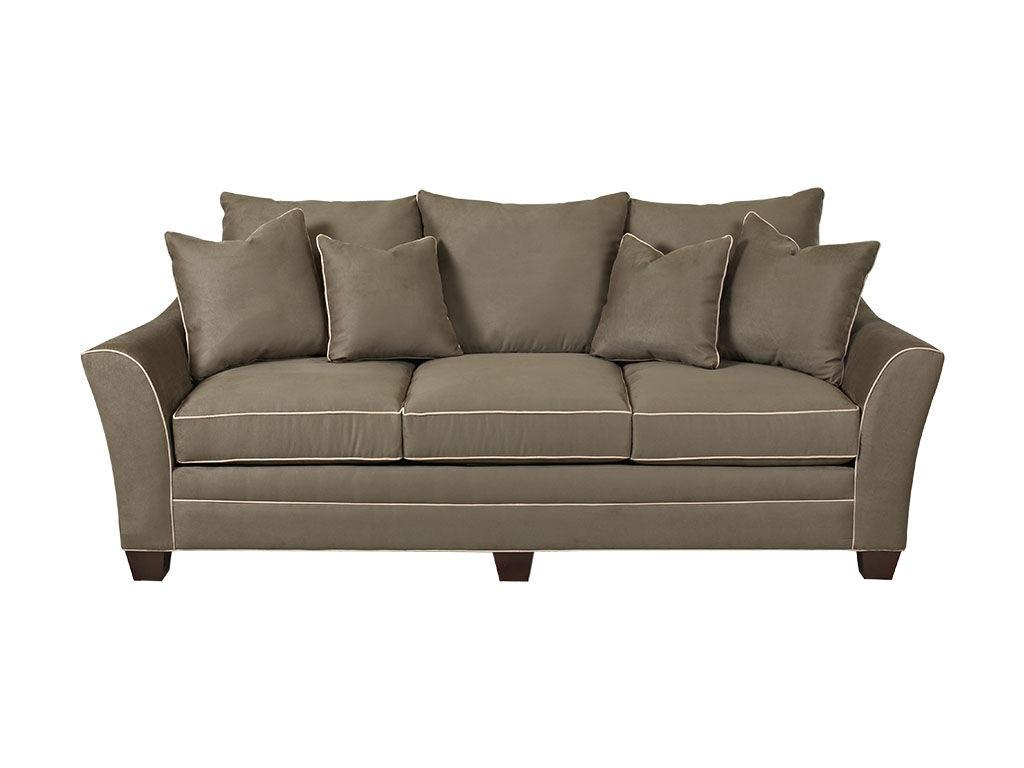Klaussner Living Room Posen Sofa 83800 S - Hanks Fine Furniture - Bentonville, AR, Conway, AR ...
