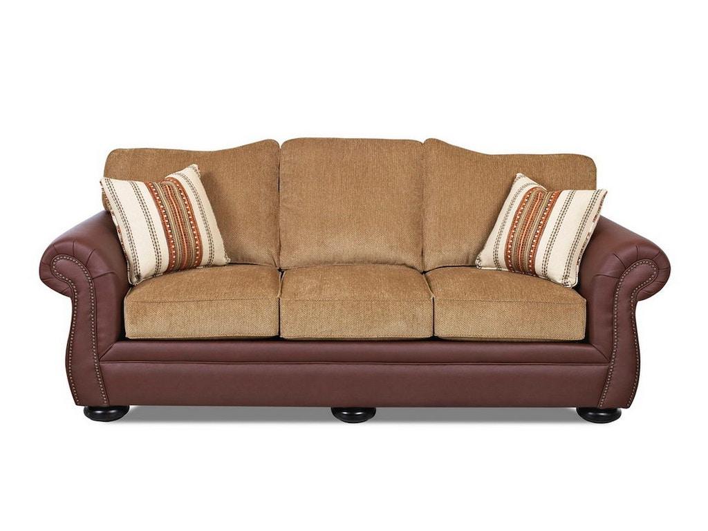 Klaussner Living Room Platter Street Sofas K24030 S Hanks Fine Furniture Bentonville Ar