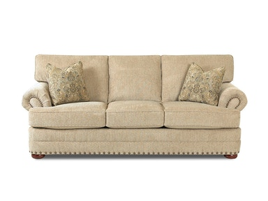 Klaussner Living Room Cliffside Sofa