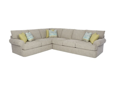 Klaussner Living Room Cora Sectional