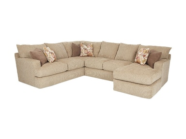 Klaussner Living Room Oliver Sectional