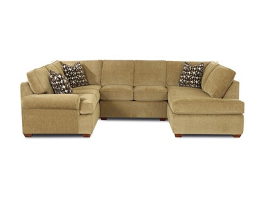 Klaussner Living Room Troupe Sectional