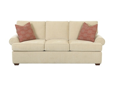 Klaussner Living Room Troupe Sofa