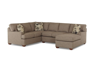 Klaussner Living Room Pantego Sectional