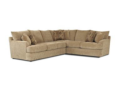 Klaussner Living Room Findley Sectional