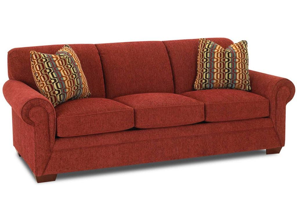 Klaussner Living Room Dreamquest Queen Sleeper K60000 Dqsl Hanks Fine Furniture Bentonville