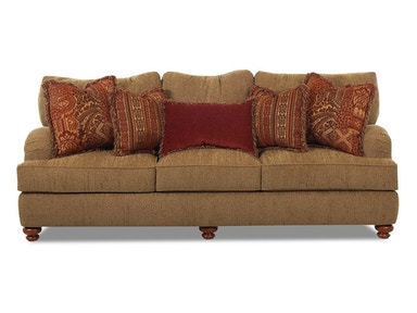 Klaussner Living Room Walker Sofa