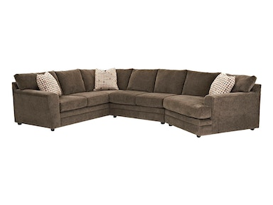 Klaussner Living Room ASHBURN Sectional