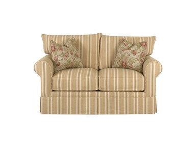 Klaussner Living Room Grove Park Loveseat