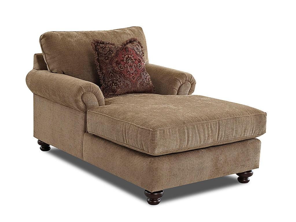 Klaussner Living Room Greenvale Chaises K73500f Chase Hanks Fine Furniture Bentonville Ar