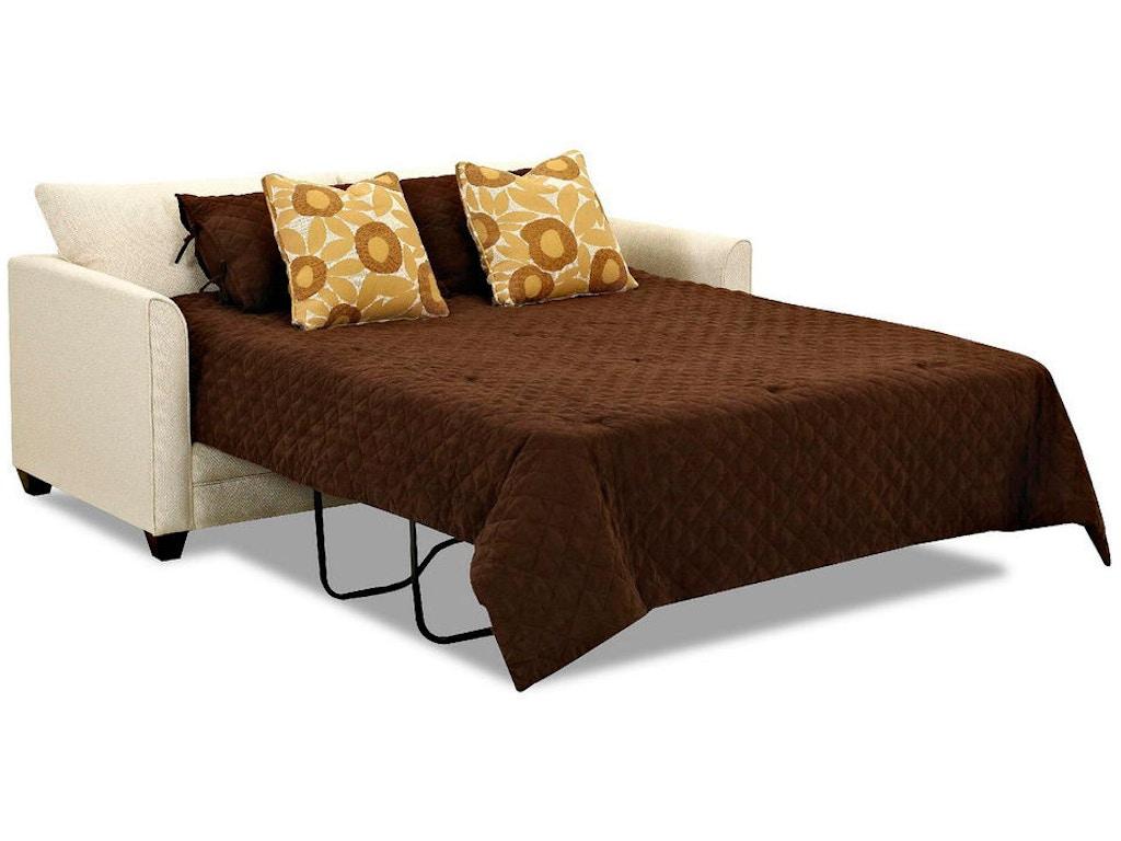 Klaussner Living Room Dreamquest Queen Sleeper K84200 Dqsl Hanks Fine Furniture Bentonville