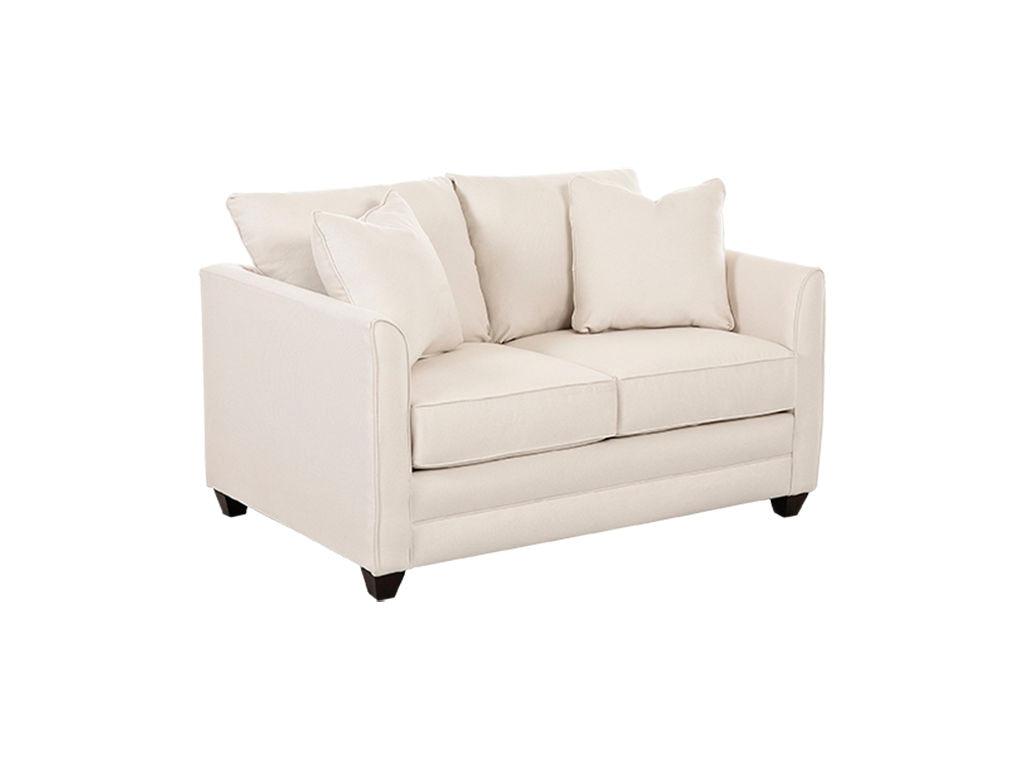 Klaussner Living Room Loveseat K84200 Ls Hanks Fine Furniture Bentonville Ar Conway Ar