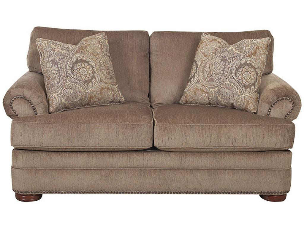 Klaussner Living Room Tolbert Loveseat K90810 Ls Hanks Fine Furniture Bentonville Ar