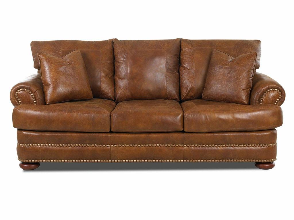 Klaussner Living Room Montezuma Sofa W Lthr Ltd43800 10 S Hanks Fine Furniture Bentonville