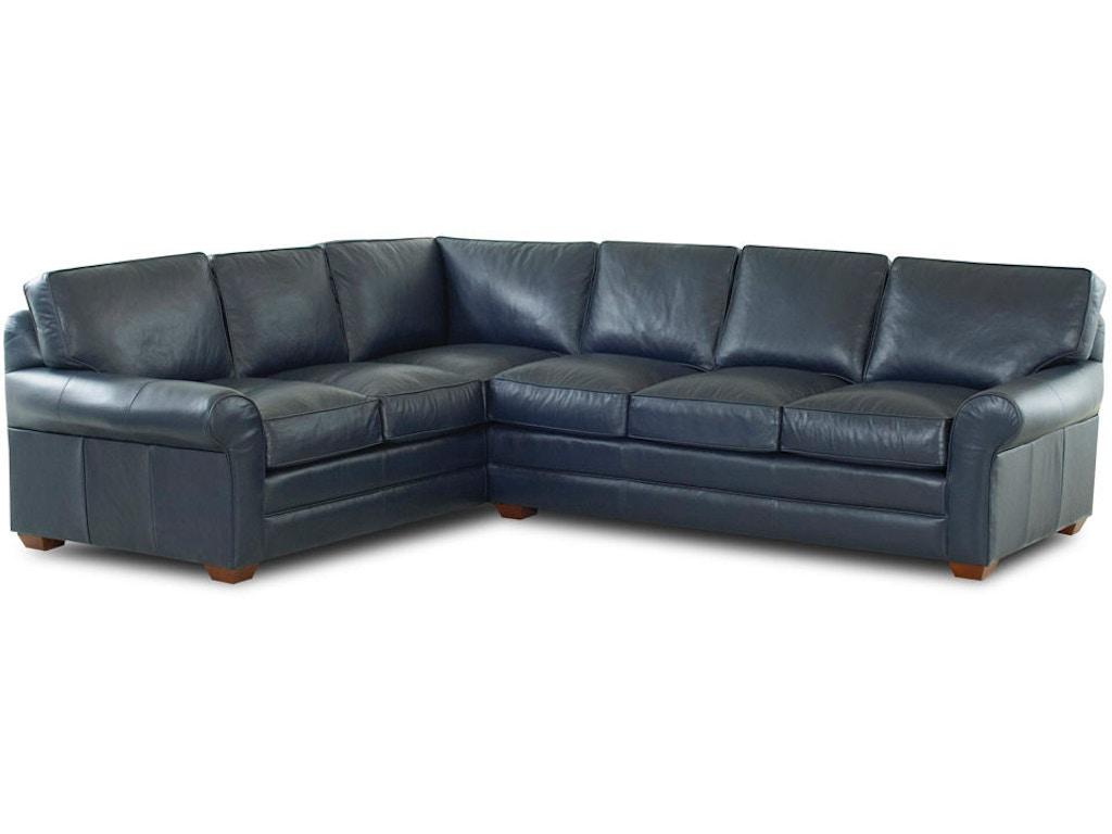 Klaussner Living Room Troupe Ltd51300 Lth Sect Hanks Fine Furniture Bentonville Ar Conway