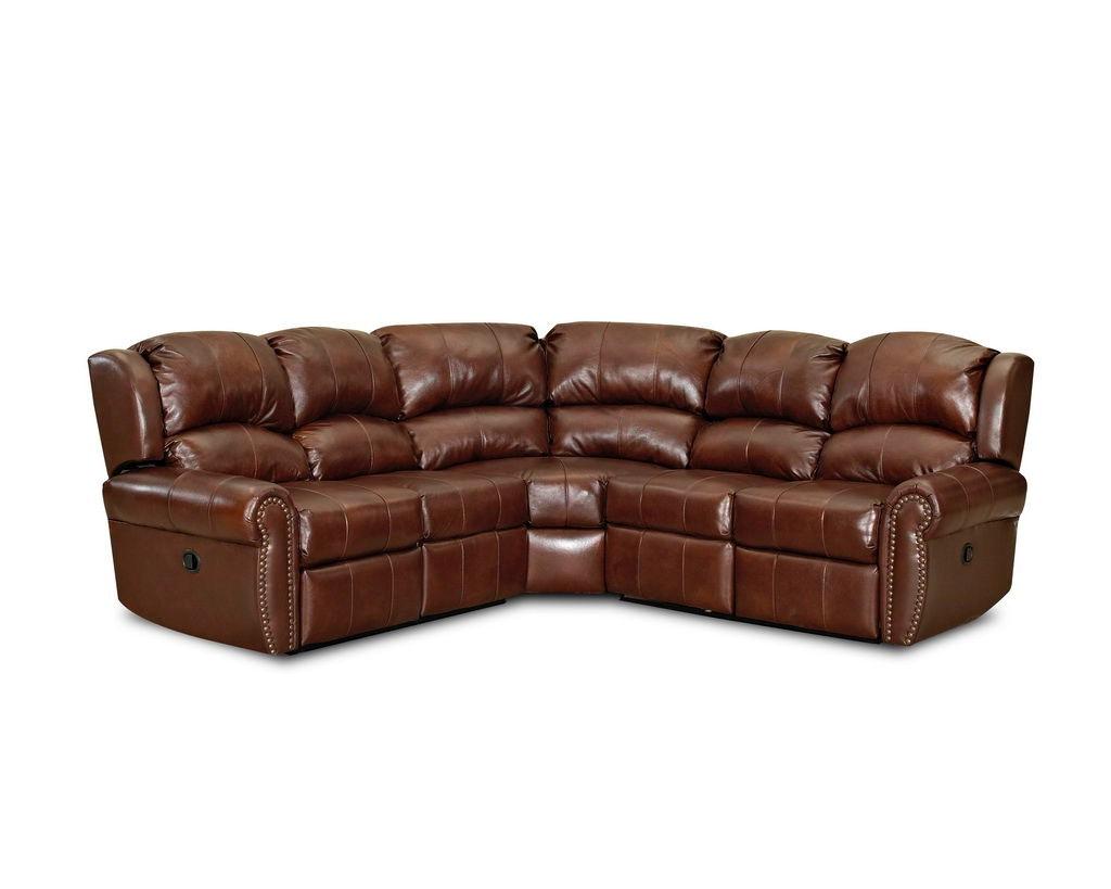 Klaussner Living Room McAlister Sectional LV32404-LTH-SECT - Hanks Fine Furniture - Bentonville ...