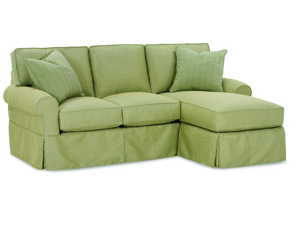 Charming Rowe Nantucket Sofa Chaise W/Slipcover A915