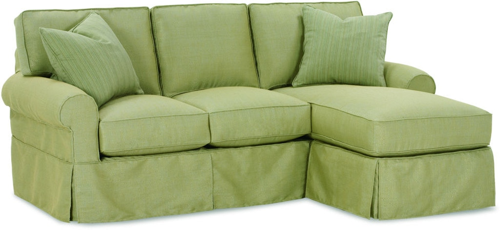 Rowe Living Room Nantucket Sofa Chaise W Slipcover A915 At Stahl Furniture
