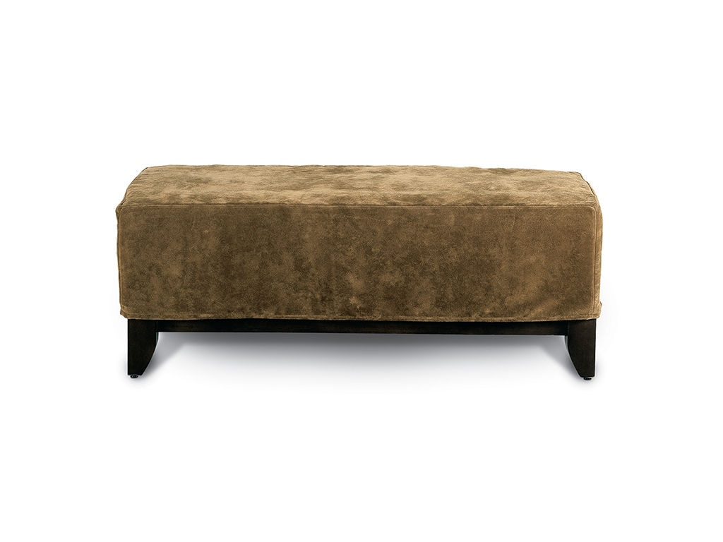 Wonderful image of Rowe Living Room Brooklyn Cocktail Ottoman Slip Only C200S at Cozy  with #8D6D3E color and 1024x768 pixels