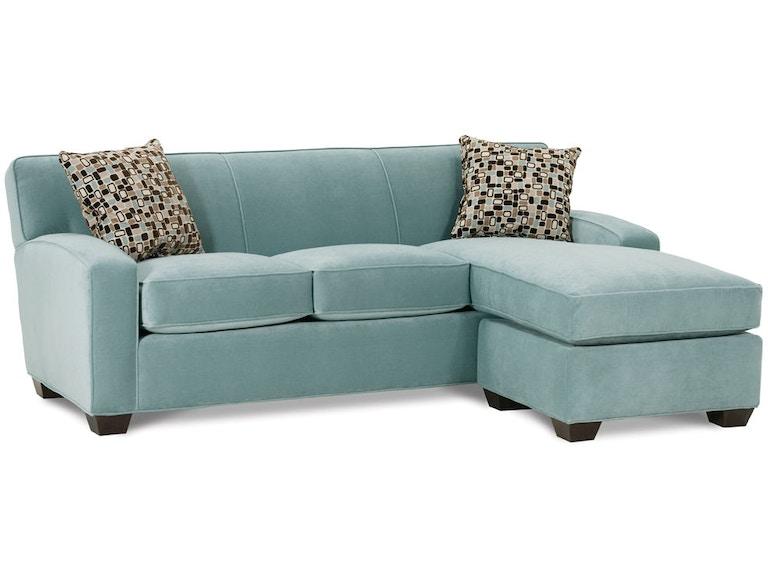 Rowe Living Room Horizon Sofa Chaise C575 Stahl
