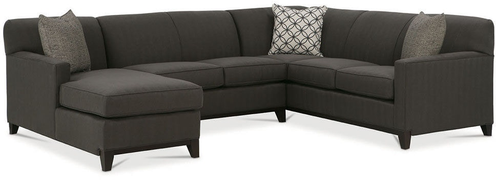 Rowe Living Room Martin Sectional G560 Sect Stahl