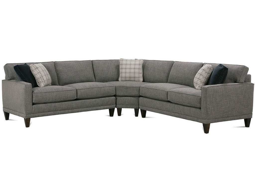 Rowe Living Room Townsend Sectional K628 Sect Matter Brothers Furniture Fort Myers Sarasota