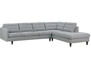 Rowe Rowe Modern Mix Button Back Sectional MD110-C-111