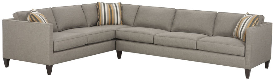 Rowe Living Room Mitchell Sectional N220 Sect Stahl