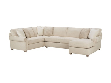 Rowe Morgan Sectional N700-Sect