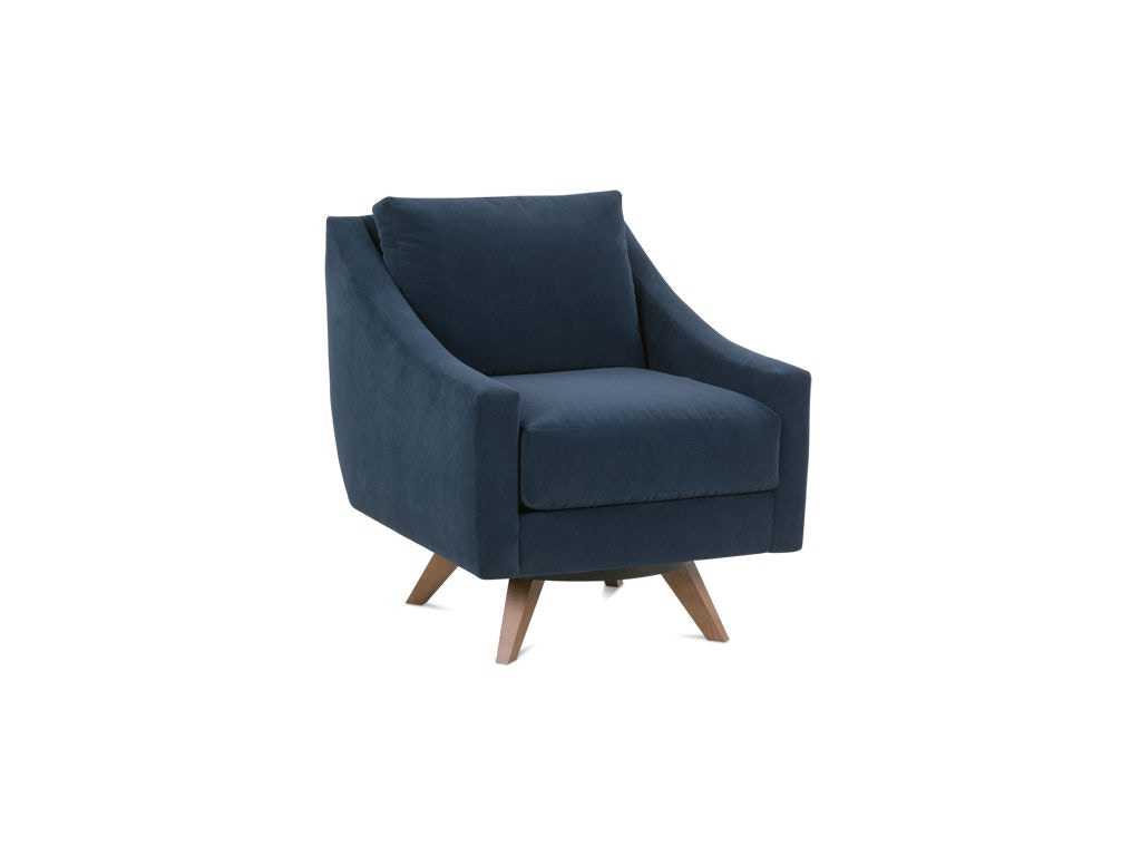 Rowe Living Room Nash Swivel Chair N970 016 Wholesale Furniture Cookeville Tn