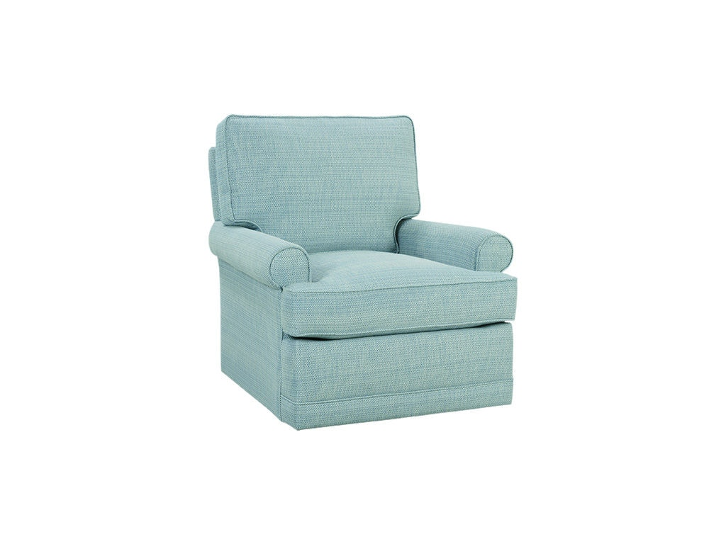Rowe Living Room Sully Swivel Glider Small P140 007 Pamaro Shop Furniture Sarasota And