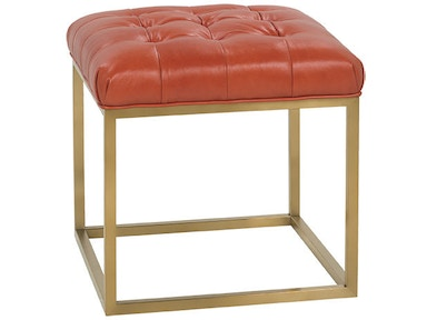 Rowe Gillian Leather Cube Ottoman P300-L-005