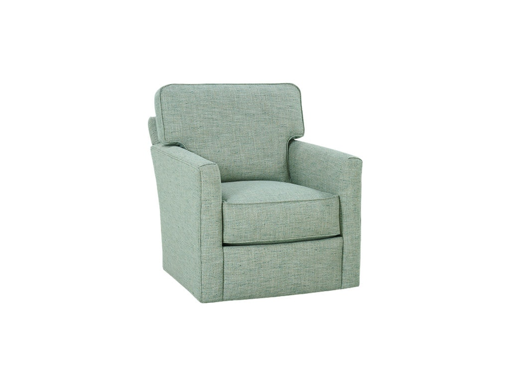 Rowe Living Room Evan Swivel Chair P340 016 Bernhaus Furniture Berne In
