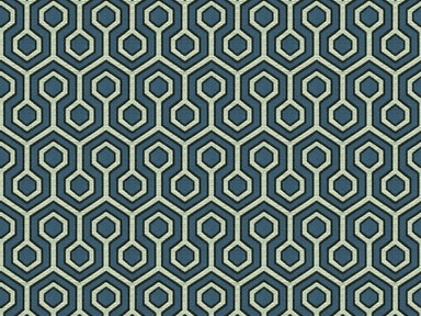 Kravet Contract HEXAGONAL HOUSE BLUE OPAL 33940.5