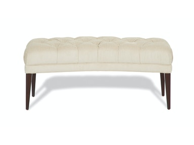 Kravet Quartet Curved Bench AC10B-48 A W