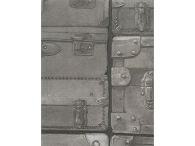 Kravet Couture LUGGAGE GUNMETAL AMW10008.21