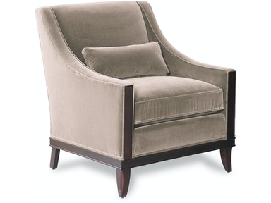 Kravet Montauk Chair and Ottoman B145/B147-O