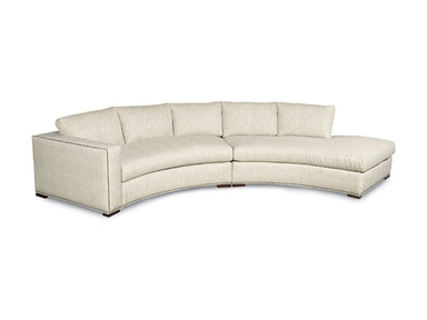 Kravet Macon Curved Sectional B224P LAJ/RG