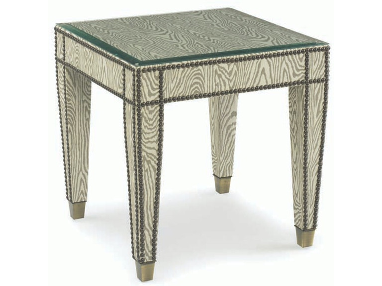 Kravet Wrapped Tapered Side Table B5110