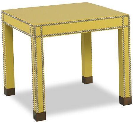 Kravet Wrapped Parsons Side Table B5116
