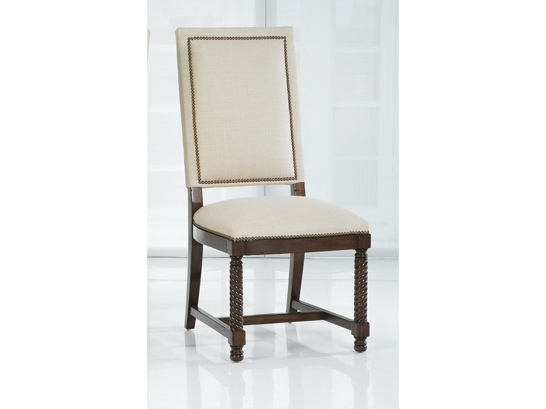 Kravet Rope Twist Side Chair FS14S